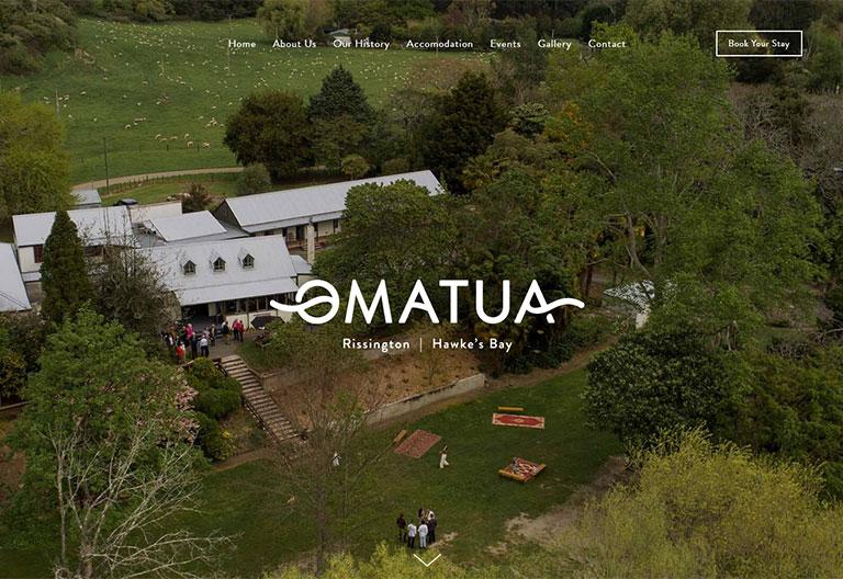 Omatua Squarespace Website Project